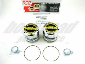 Warn 20990 Premium 4WD Manual Locking Hubs 1966-1996 Ford Bronco