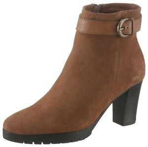 Betty Barclay Shoes Stiefelette mit dezenter Kroko-Prägung, Gr.37, B-WARE