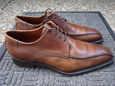 +Classy & Stylish DARIO DODONI Brown Oxford--Made in Italy-Size 42 1/2 =USA 10.5