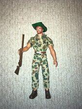 Vintage Big Jim Safari Hunter Action Figure Military Adventure Joe Estate Sale