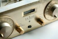 Vintage H.H. SCOTT Type 330-C Stereo AM-FM Stereomaster Tuner