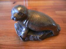 Purbeck Designs handmade SEAL Bronze coated resin Swanage Dorset