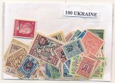 Ucraina  Paquete        100 sellos diferentes
