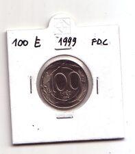 Repubblica Italiana 100 lire 1999  It.Turrita 2°tipo  Cupronichel  FDC    (m928)