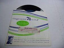 Orga-Sonic Eddie Osborn 45 RPM Baldwin Piano 1962 EX