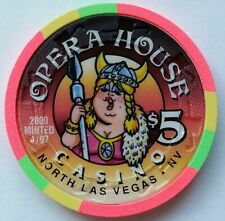 "New listing Opera House Casino Las Vegas $5 Chip ""Uncirculated"""