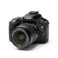 Camera silicone cover for Canon  EOS 250D(Rebel SL3) Black + Screen protector