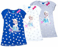 Disney Frozen Vest Girls Kids Sun Dress Beach Summer Dresses Age 4 - 8 Years
