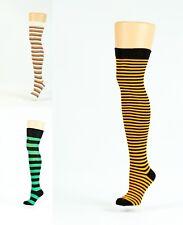 thigh-high-over the-knee-socks stripe designs