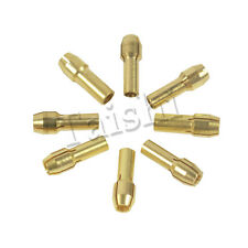 8 pcs Collet Brass Drill Chuck Bits Shank for Rotary Tool Pin Vices 1mm-3.2mm