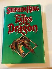 1st/1st Edition THE EYES OF THE DRAGON Stephen King  book hardcover DJ w/tear