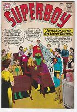 Superboy #117 F+ 6.5 Superman Legion of Superheroes Brainiac 5 Element Lad Ultra