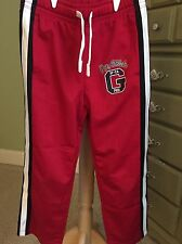 Gap Kids Red Athletic / Track Pants S Small 6 7