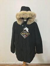 NWT Men's WOOLRICH John Rich & Bros. Gore-Tex Arctic Fur Trim Parka, XL, Off Blk