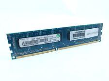 RMT1970ED48E8F-1066-HF GENUINE RAMAXEL LAPTOP MEMORY 2GB 2RX8 PC3-8500S-777