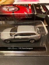 Miniatures Kyosho 1/64 Alfa Romeo 159 Sportwagon Silver