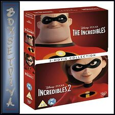 Incredibles 1 & 2 Disney Pixar 2 Movie Collection DVD Boxset*