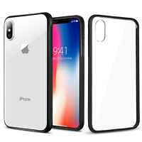 [Ultra-Crystal] Slim Thin Clear Hard PC Back Case Cover for Apple iPhone X 8 7 6