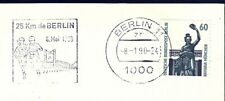 LOT OF 5 ADRESSED ENVELOPES WITH 25 KM BERLIN 1988 AND 1990 POSTMARK CHECK SCANS