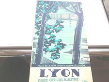 GUIDES TOURISTIQUES ANCIENS/ LYON