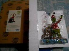 Jim Shore Grinch Figurine Enesco Dr Seuss 2020 Grinch Juggling Into Bag with Box