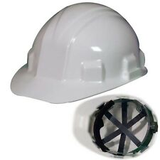 Jackson Safety Sentry III 14409 White Cap Style Hard Hat 6-Pt Ratchet Suspension