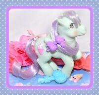 ❤️My Little Pony G1 Vtg Peppermint Crunch Sundae Best Lollipop BRUSH Pegasus❤️