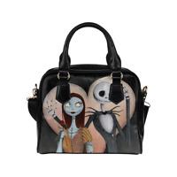 Nightmare Before Christmas Shoulder Handbag Purse Bag Cross Body for Ladies