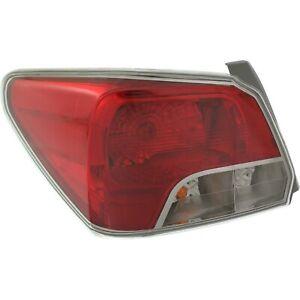 LH Left Driver Tail lamp light Outer Sedan 2.0L fits 2012 2014 Subaru Impreza