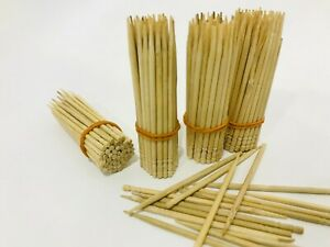 Toothpicks Oral Care 2mm Thick Cocktail Picks Safe Wooden Bamboo Round Bulk