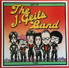J. Geils Band The Best Of Two LP 1980 Original Excellent Condition