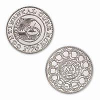 The Continental Dollar Of The Republic 2 oz .999 Silver BU Round US Bullion Coin