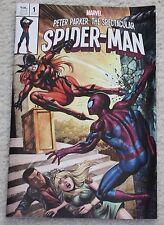 PETER PARKER SPECTACULAR SPIDER-MAN 1 TYLER KIRKHAM MARY JANE VARIANT HOMAGE!