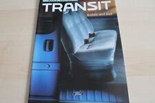122697) Ford Transit - Kombi & Bus - Prospekt 02/1992