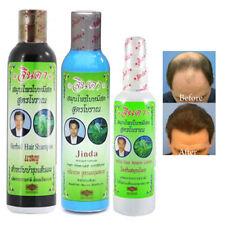 Jinda Hair Loss Treatment Growth Natural Herbal Shampoo Conditioner Serum Set