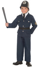 Brand New British Bobbie Police Officer Child Costume (M)