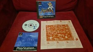 The Adventures of Alundra PAL Playstation PS1 CIB gut mit Karte und Anleitung