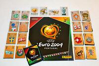 Panini EM 2004 10 Sticker aus fast allen aussuchen choose pick Euro 04 Portugal