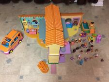 Dora The Explorer Talking Doll House Includes Van, Pool, Figures & Accessories