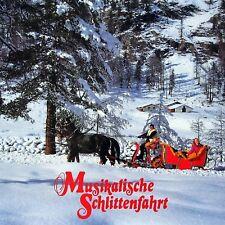 LP Vinyl musikalische Schlittenfahrt Weihnachtslieder