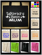 Personalised Tote Bag, Shopping Bag, Cotton Bag, Foldable Canvas Shopping Bag