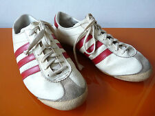 VINTAGE Adidas VIENNA Sneakers Scarpe da Ginnastica Taglia 6 (38) 70er 80er