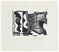 Negro Guitarist : John Banting : 1935 : Archival Quality Art Print