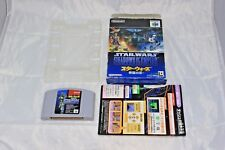 Star Wars Shadow of the Empire N64 Complete Japan Version North American Seller