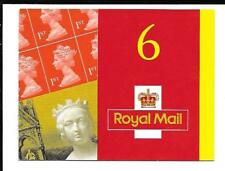 Mb2 6 x 1st Queen Victoria Barcode Booklet Ref 16106