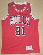 NBA Dennis Rodman Large Chicago Bulls Jersey