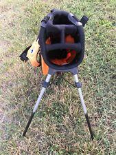 Us Kids Golf Black/ Orange 51-35 Stand Bag No Rain Cover