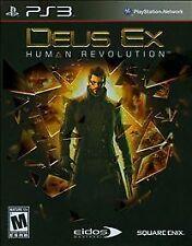 PS3 Deus Ex Human Revolution  Playstation 3    * Sealed *
