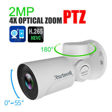 Rsrteng 2MP PTZ 4X Optical Zoom Security IP Camera P2P IR H.265 Outdoor Onvif