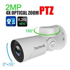 Rsrteng 2MP PTZ 4X Optical Zoom Security IP Camera P2P IR H.265 HD Outdoor Onvif